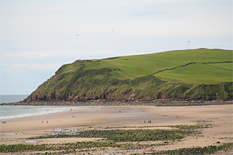 St Bees beach and Tomlin